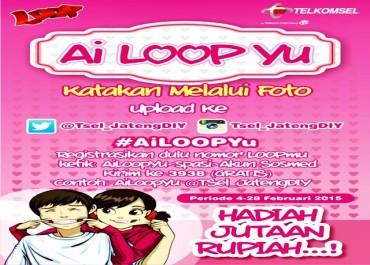 Upload Foto #AiLoopYu Berhadiah Jutaan Rupiah