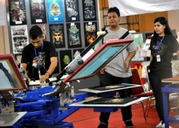 Bisnis Percetakan Tekstil Tumbuh Signifikan