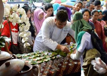 Jenang Salmon Syariah Hotel Solo  di SICF 2015