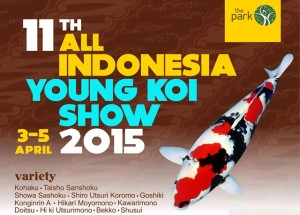 Indonesia Young Koi Show 2015