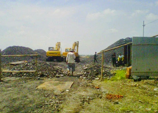 Penimbunan Batu Bara Ilegal Disoal