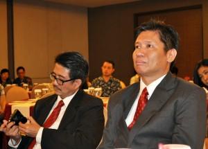 Prinsipal KW Solo, Solo Baru & Jogja East, Ir. Susanto, serius simak Seminar Rahasia Sukses Menjadi Millionaire Real Estate Agent