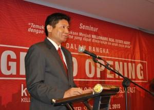Prinsipal KWSolo, Solo Baru & Jiogja East, sambutan Grand Opening
