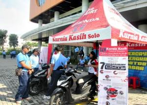 Both Honda Kurnia Kasih Motor dikunjungi anggota TNI AU