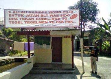 Warga Protes BLT Diambil Pamong Desa