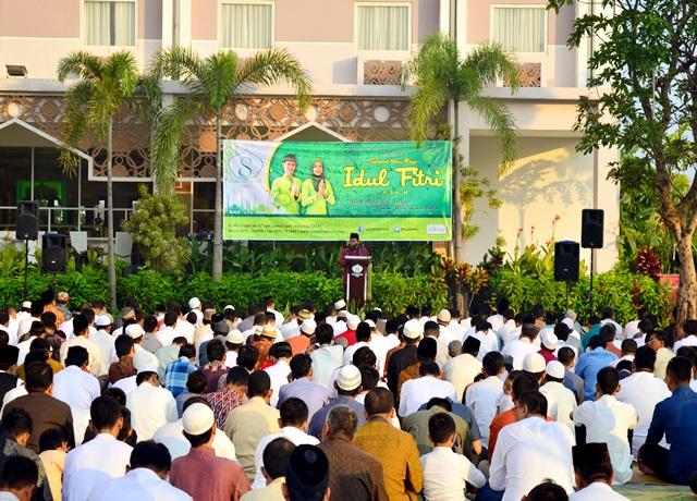 Rayakan Lebaran, Syariah Hotel Solo Helat Sholat Ied