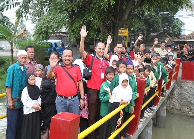 Jembatan Alfamart ke-16 Dibangun di Kota Tangerang