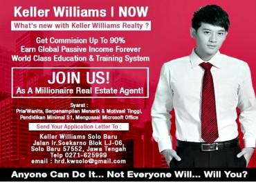 Keller Williams Jadikan Property Agent Sukses