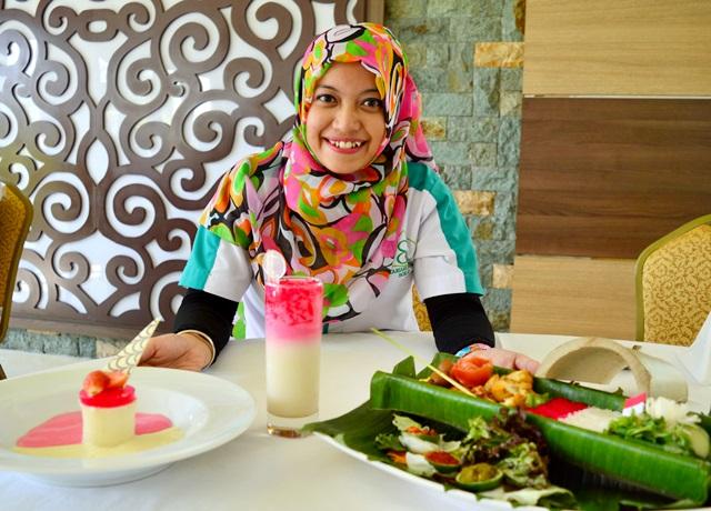 17-an Nasi Bambu 17 Meter di Syariah Hotel Solo