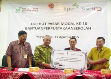 Pasar Modal Bantu Tingkatkan Sarana Pendidikan di 19 Sekolah