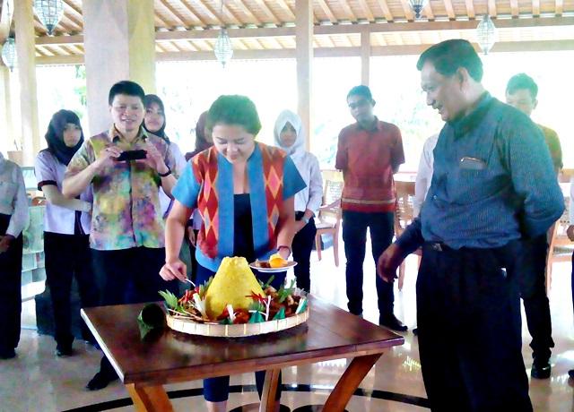 Prasanthi Fokuskan Peningkatan SDM Gambir Anom