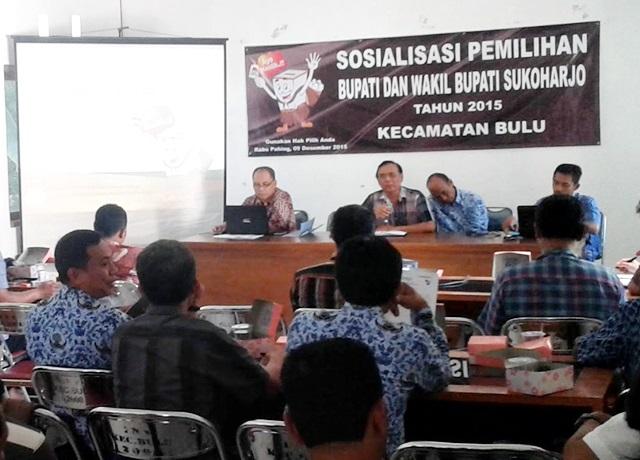 KPU Sosialisasi Pilkada Minimalkan Golput