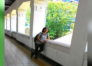 Salah satu lorong Lawang Sewu