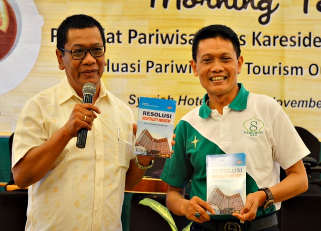 Purwanto Luncurkan Resolusi Hospitality Industry