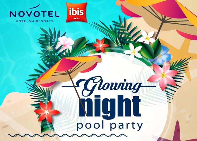 Glowing Nite Pool Party, Novotel-Ibis Hotel