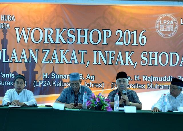 LP2A  Jebres Workshop Pengelolaan ZIS