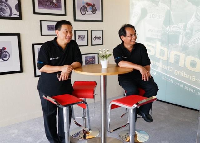 Premium Lounge sebagai salah satu fasilitas premium Big Wing Honda
