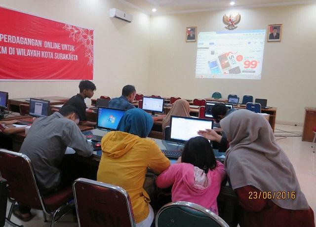 Disperindag Gelar Pelatihan Perdagangan Online Gratis