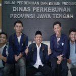 UNIBA Kunjungi Balai Perbenihan& Kebun Produksi Jawa Tengah
