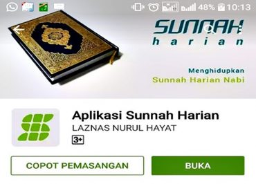 "Nurul Hayat Luncurkan Aplikasi Baru ""Sunnah Harian"""