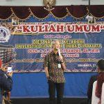 Gubernur Jateng Beri Kuliah Umum di UNIBA Solo