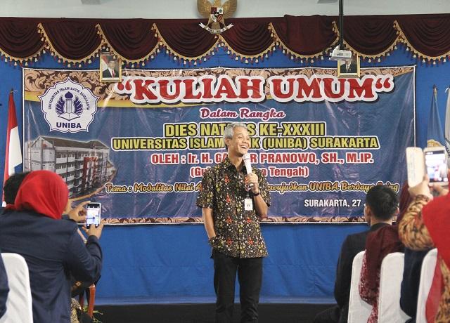 KULIAH UMUM GUB. JATENG 27 JULI 2016