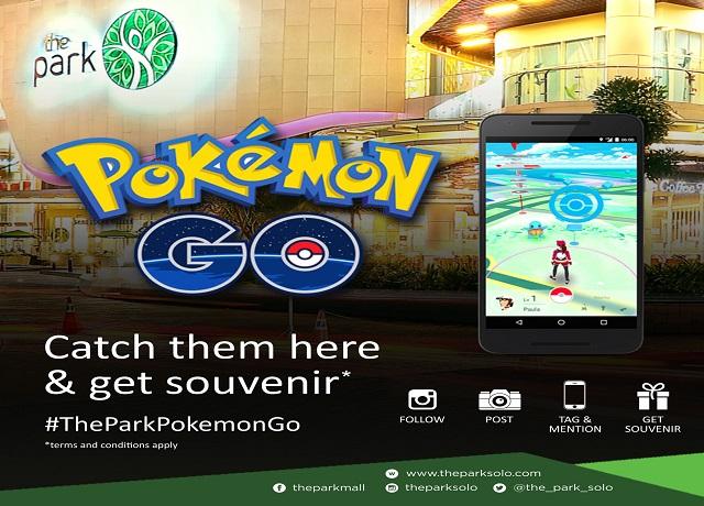 Pokemon Go - The Park Mall