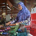 Batik & Gula Semut  Di Harkopnas Expo 2016