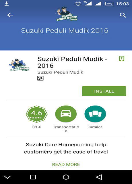 suzuki applikasi B