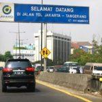 Tarif Tol Tangerang-Merak Diskon 20%