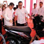 AHM Beri Motor dan Tools SMK Istimewa LP Anak Tangerang