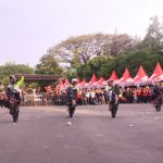 1000 Riders Gymkhana Unjuk Nyali di Honda Sonic Infastion