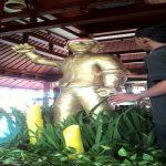 Replika Patung Pejuang Sambut HUT RI ke–71 Lorin Hotel