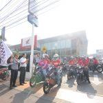 Astra Motor Jateng Touring Merah Putih