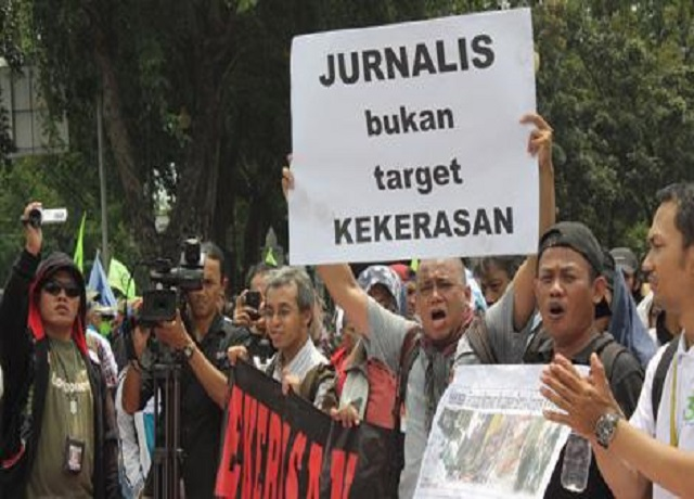 kekerasan terhadap wartawan