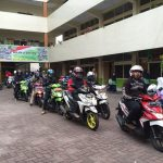 1.400 Peserta Ramaikan Fun Rally All New BeAT eSP 2016