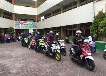1.400 Peserta Ramaikan Fun Rally All New BeAT eSP 2016