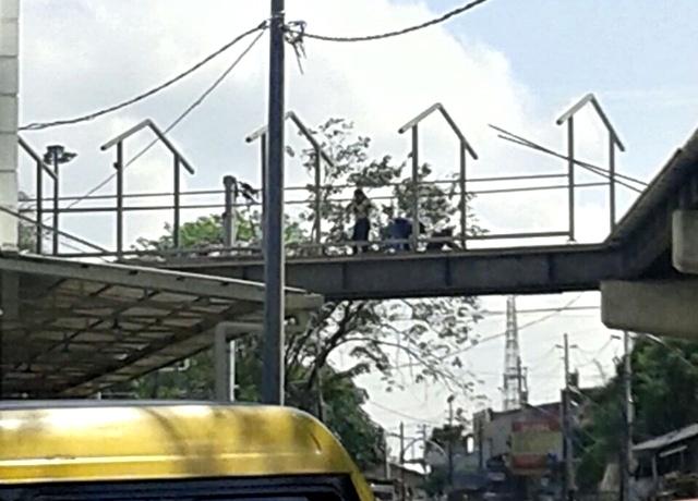 Skybridge Capai Tahap Pemasangan Atap dan Lantai