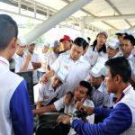 364 Karyawan Kubota Ikuti Pelatihan Safety Riding Astra Motor Jateng