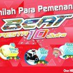 Konsumen Solo Raya Raih Hadiah Motor Honda Beat