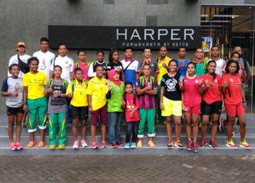Atlit & Official Jawa Barat PON XIX 2016 di Hotel Harper Purwakarta
