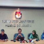 KPU DKI: 21-23 September Buka Pendaftaran Cagub