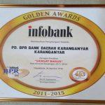 Bank Daerah Karanganyar Raih Penghargaan ARA 2016