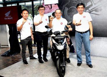 AHM Hadirkan New Honda BeAT Street eSP