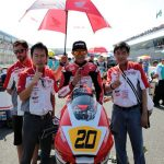 Tampilan Andi Gilang di CEV Moto3 Junior World Championship,