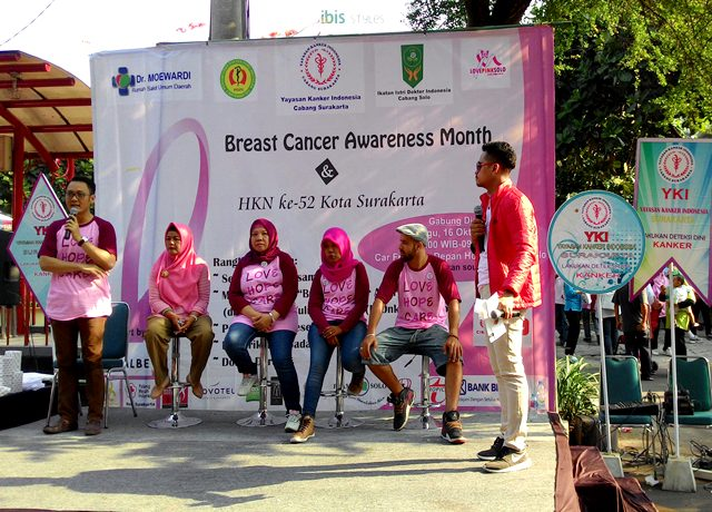 Novotel-Ibis Solo Dukung Kegiatan Breast Cancer Awareness Month
