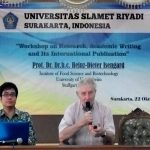 Unisri Solo Gelar Workshop Penulisan Jurnal Ilmiah