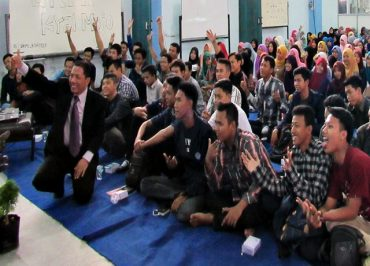 UNIBA Solo Gelar Spiritual Building Training