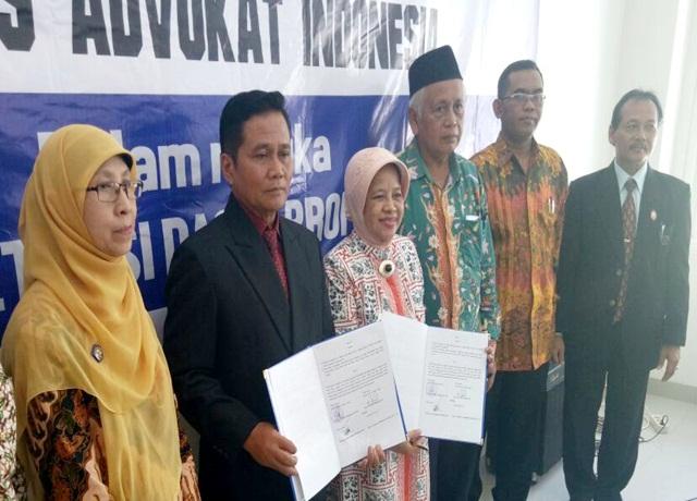 UNIBA Solo  MOU Dengan Kongres Advokat Indonesia (KAI)