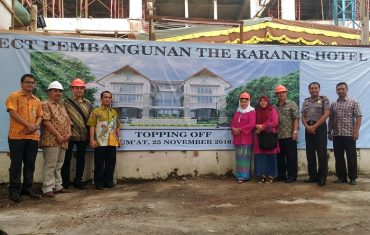 The Karanie Hotel Jogja Topping Off